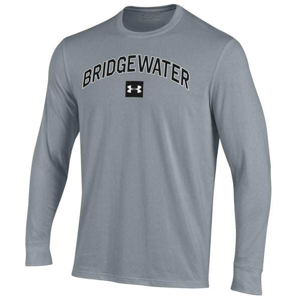 UA Steel Heather Long Sleeve Arched Bridgewater