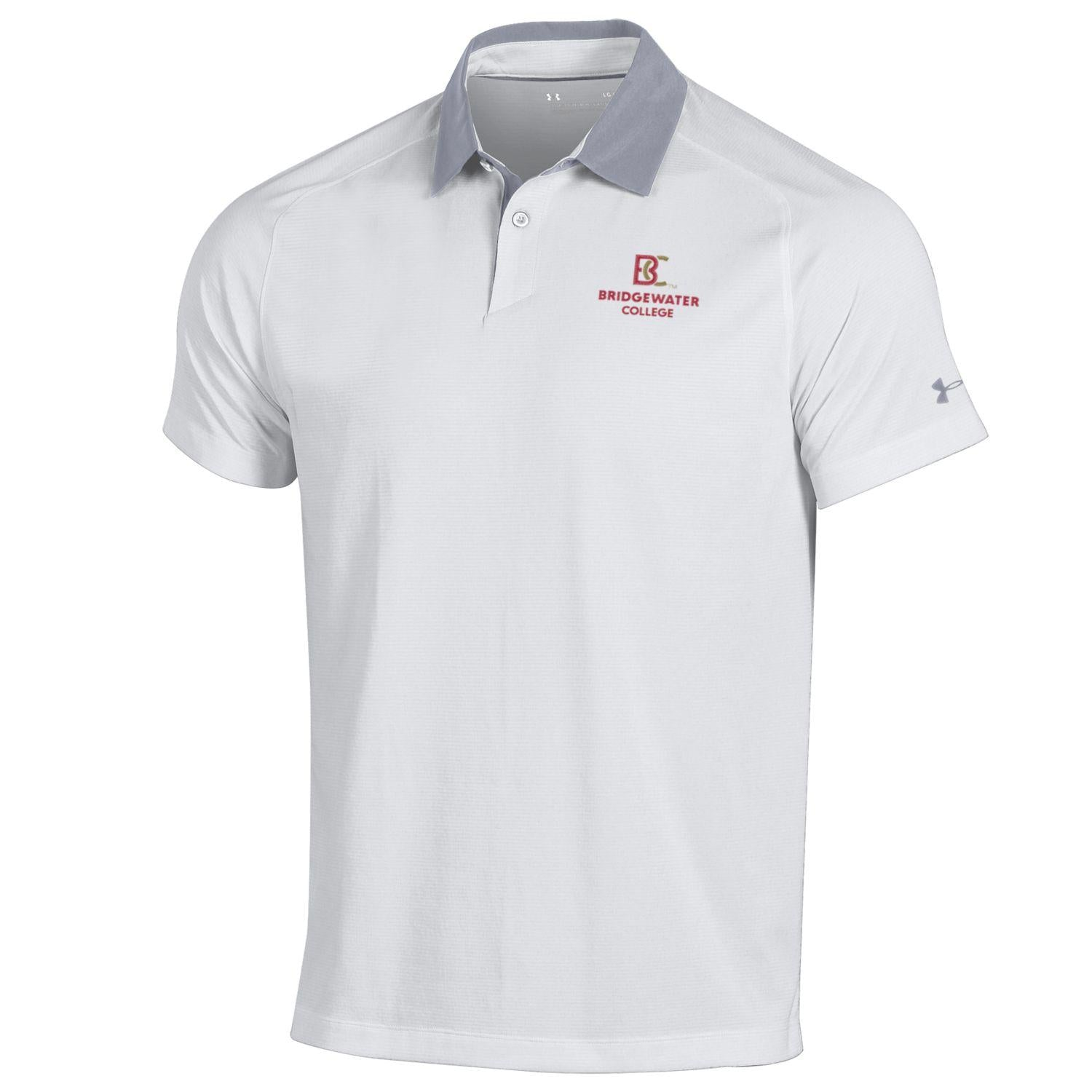 UA Threadborne White Polo