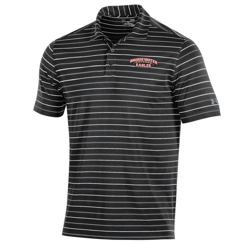Under Armour Black Mens Polo