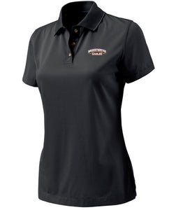 Black Stripped Charles River Women's Polo
