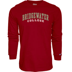 Blue 84 Classic Crimson Bridgewater College Long Sleeve Tee