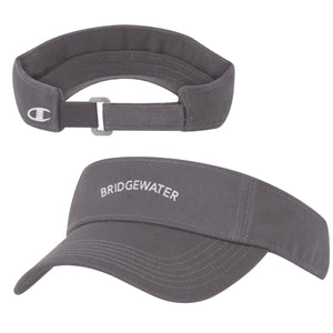 Champion Bridgewater College Gray Visor
