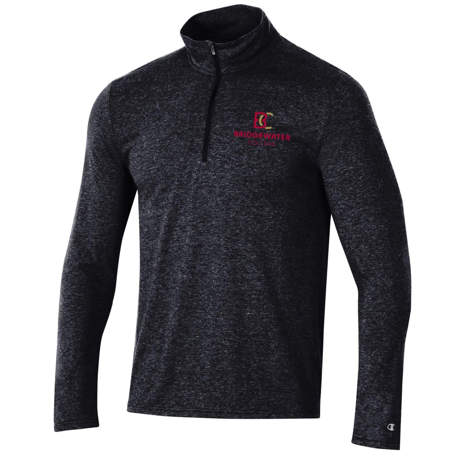 Champion New BC Logo Charcoal Quarter Zip