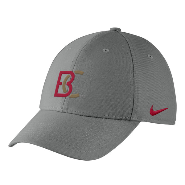 BC Nike Men's Swoosh Flex Pewter Grey Hat