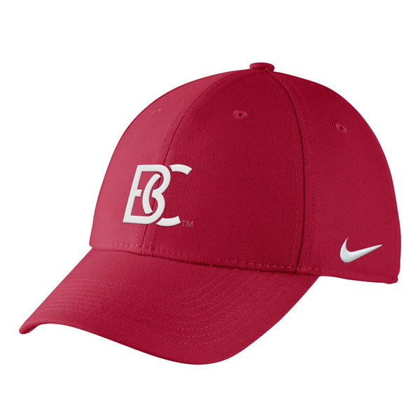 BC Nike Men's Swoosh Flex Team Crimson Hat