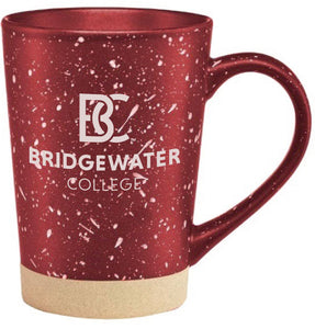 Bridgewater College BC 16oz Crimson Earth Stone Mug