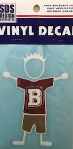 Bridgewater College Family Decal