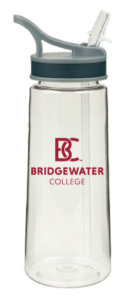 RFSJ Bridgewater College Clear Explorer Tritan Water Bottle