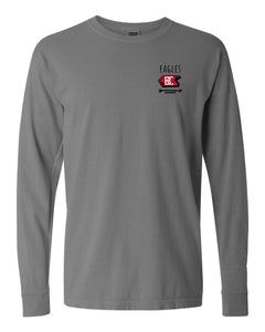Bridgewater College Summit Signs Long Sleeve Gray Tee