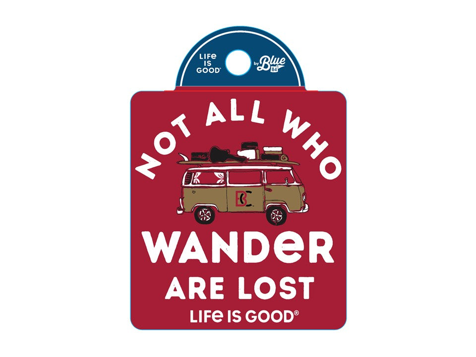 Blue 84 Life is good Wonder Decal