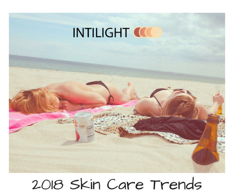 2018 skin care trends with Intilight