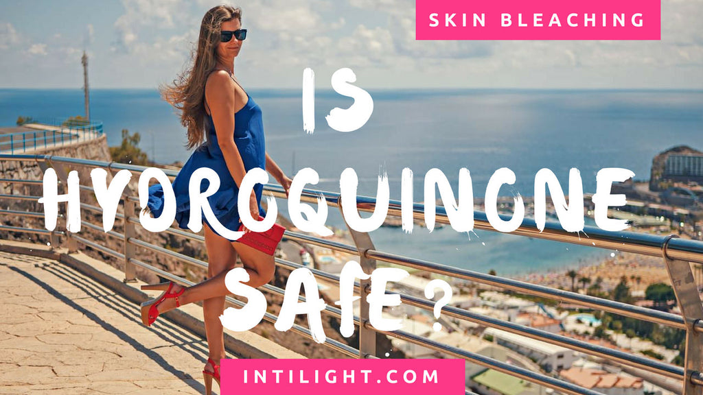 Intilight Hydroquinone is safe <2%