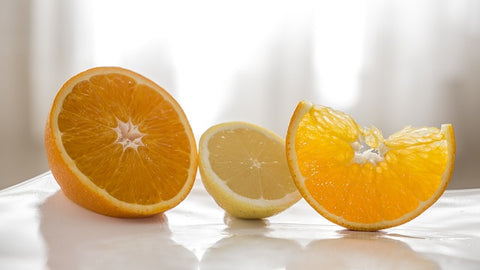 orange-lemon mask for skin lightening