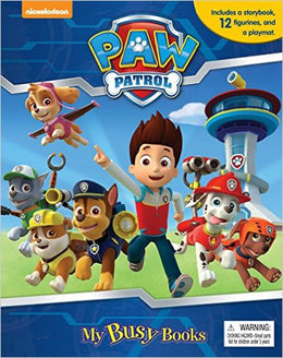 Paw Patrol My Busy Book (Board book)