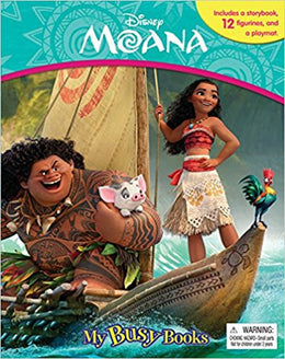 Disney Moana My Busy Book Board book