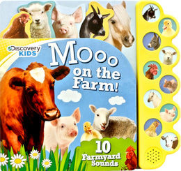 Discovery Kids Moo on the Farm (Discovery 10 Button) Board book