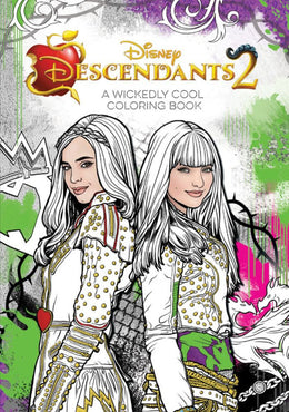 Descendants 2 A Wickedly Cool Coloring Book (Art of Coloring) Paperback