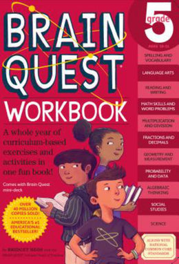 Brain Quest Workbook: Grade 5 (Paperback) - Bookseller USA