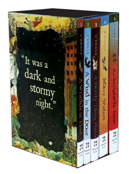Wrinkle in Time Quintet Boxed Set (A Wrinkle in Time, A Wind in the Door, A Swiftly Tilting Planet, Many Waters, An Acceptable Time) Paperback