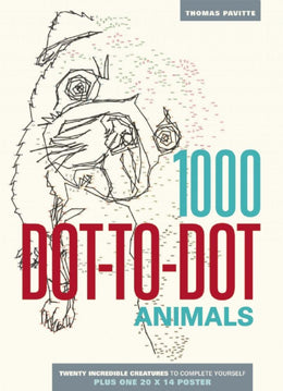 1000 Dot-to-Dot: Animals (Paperback) - Bookseller USA