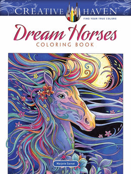 Creative Haven Dream Horses Coloring Book - Bookseller USA