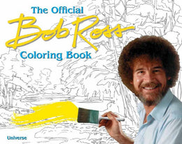 Bob Ross Coloring Book (Paperback)