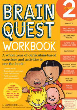 Brain Quest Workbook Grade 2 (Paperback) - Bookseller USA