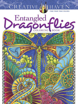 CH: Entangled Dragonflies Coloring Book