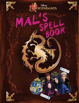 Descendants: Mal's Spell Book (Hardcover)