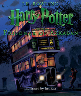 Harry Potter and the Prisoner of Azkaban: The Illustrated Edition (Harry Potter, Book 3) Hardcover