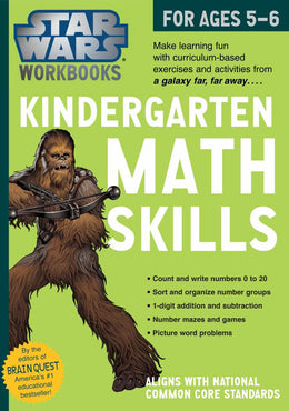 Star Wars Workbook, Kindergarten Math Skills