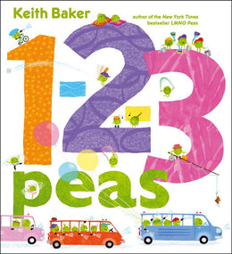 1-2-3 Peas (The Peas Series) Hardcover