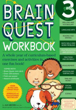 Brain Quest Workbook: Grade 3 (Paperback) - Bookseller USA