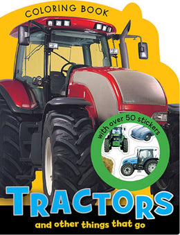 Tractors Mini Coloring Book (Paperback)