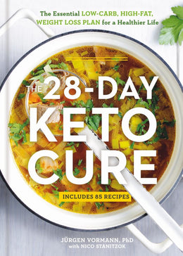 28-Day Keto Cure, The - Bookseller USA