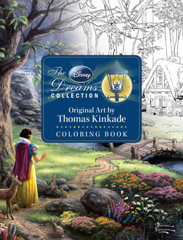 Disney Dreams Collection Original Art, The by Thomas Kinkade Coloring Book (Paperback)