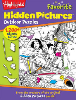 Hidden Pictures Favorite Outdoor Puzzles