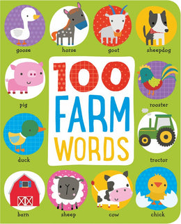 100 Farm Words (Board book)