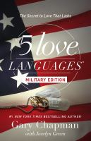 5 Love Languages Military Edition, The - Bookseller USA