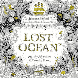 Lost Ocean: An Underwater Adventure and Coloring BookaLost Ocean: An Inky Adventure and Coloring Book for Adults (Paperback)