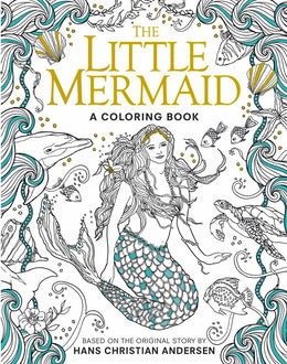The Little Mermaid: A Coloring Book (Classic Coloring Book) Paperback
