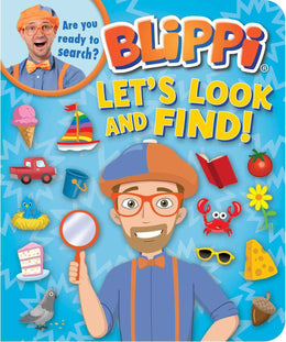 Blippi: Lets Look and Find (Board Book)