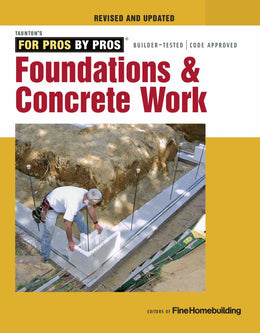 Foundations & Concrete Work (Paperback)