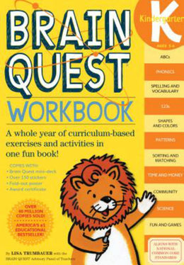 Brain Quest Workbook: Kindergarten (Paperback) - Bookseller USA