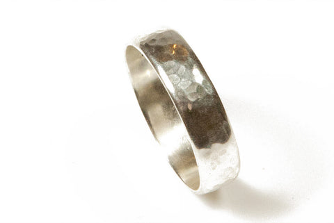 hammered russian wedding ring silver hammered russian