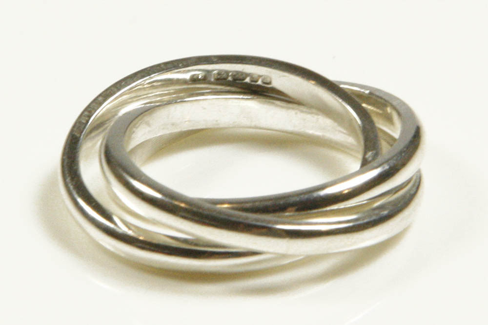 silver russian wedding band smaller russian wedding ring - Russian Wedding Ring