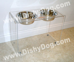 "15"" Dishy Dog diner (2-quart bowls)"