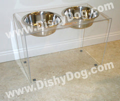 "12"" Dishy Dog diner - (3-quart bowls)"