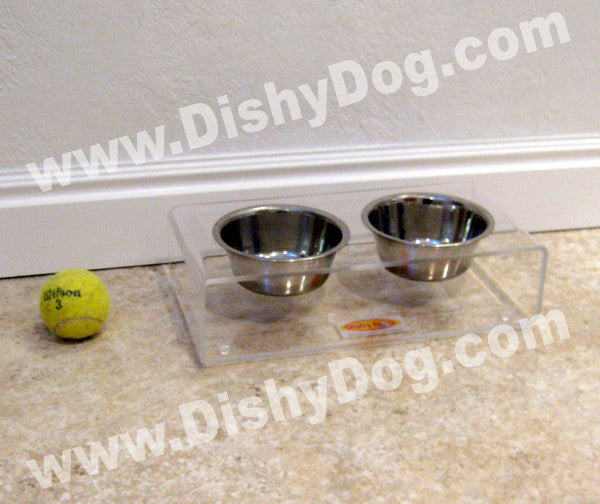 "3"" Mini Dishy diner (double bowl)"