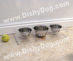 "3"" Triple Mini Dishy diner"